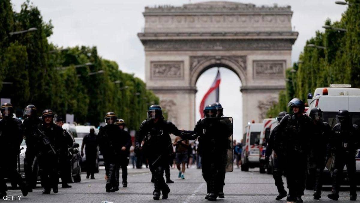 الشرطة الفرنسية تتأهب لاحتفالات نهائي أمم أفريقيا