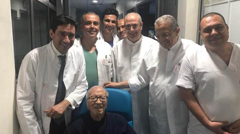 نقل رئيس الجمهورية إلى المستشفى العسكري بقرار من الأطباء المباشرين له