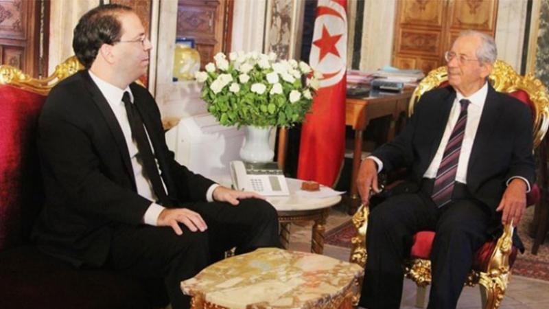 اجتماع طارئ بين الشاهد ومحمد الناصر