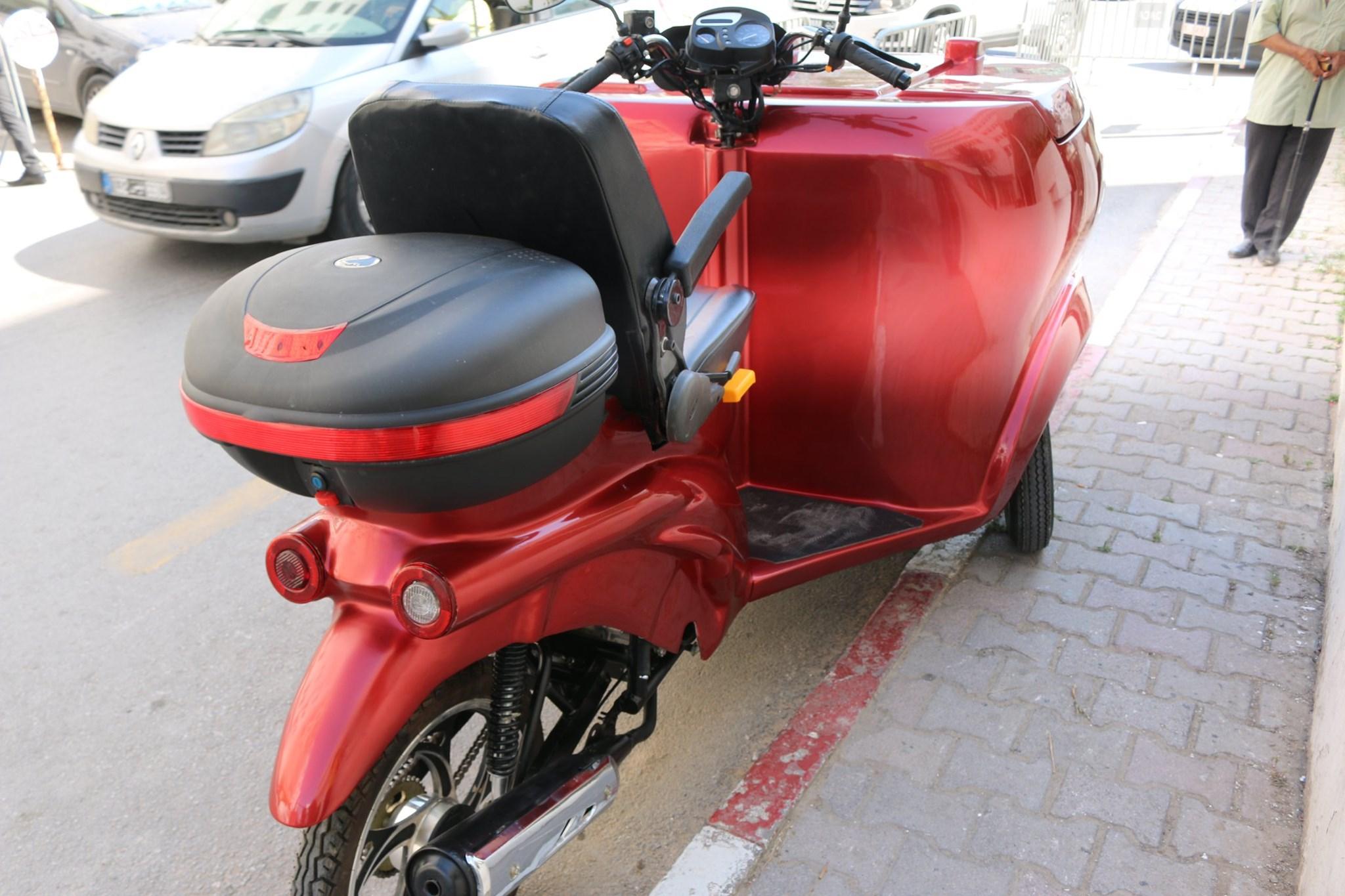 ابتكار تونسي جديد: عربة ذات 3 عجلات (صور)
