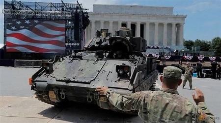 البنتاغون: احتفال ترامب بعيد الاستقلال كلف الجيش 1،2 مليون دولار