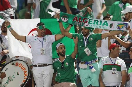 الجزائر: تخصيص  طائرات عسكرية لنقل المشجعيين الى مصر