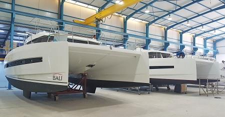 إطلاق مُركب جديد لشركة « Haco » المتخصصة في صناعة القوارب
