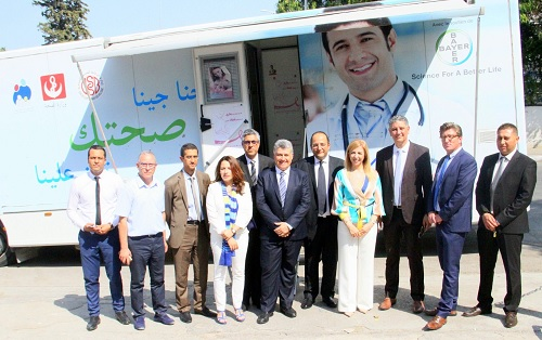 وزارة الصحة تتسلم حافلة طبيّة متعدّدة الاختصاصات