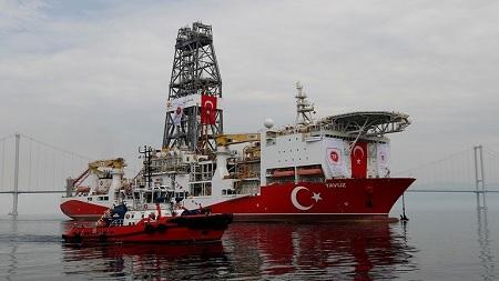 بيان مصري بشأن تحركات تركيا في البحر المتوسط