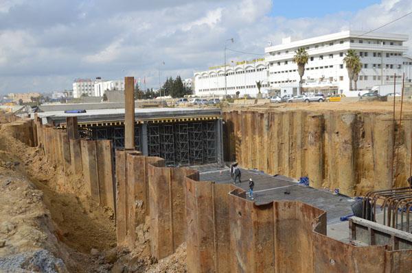 تقدم أشغال مشروع محوّل مطار تونس قرطاج بنسبة 75 %