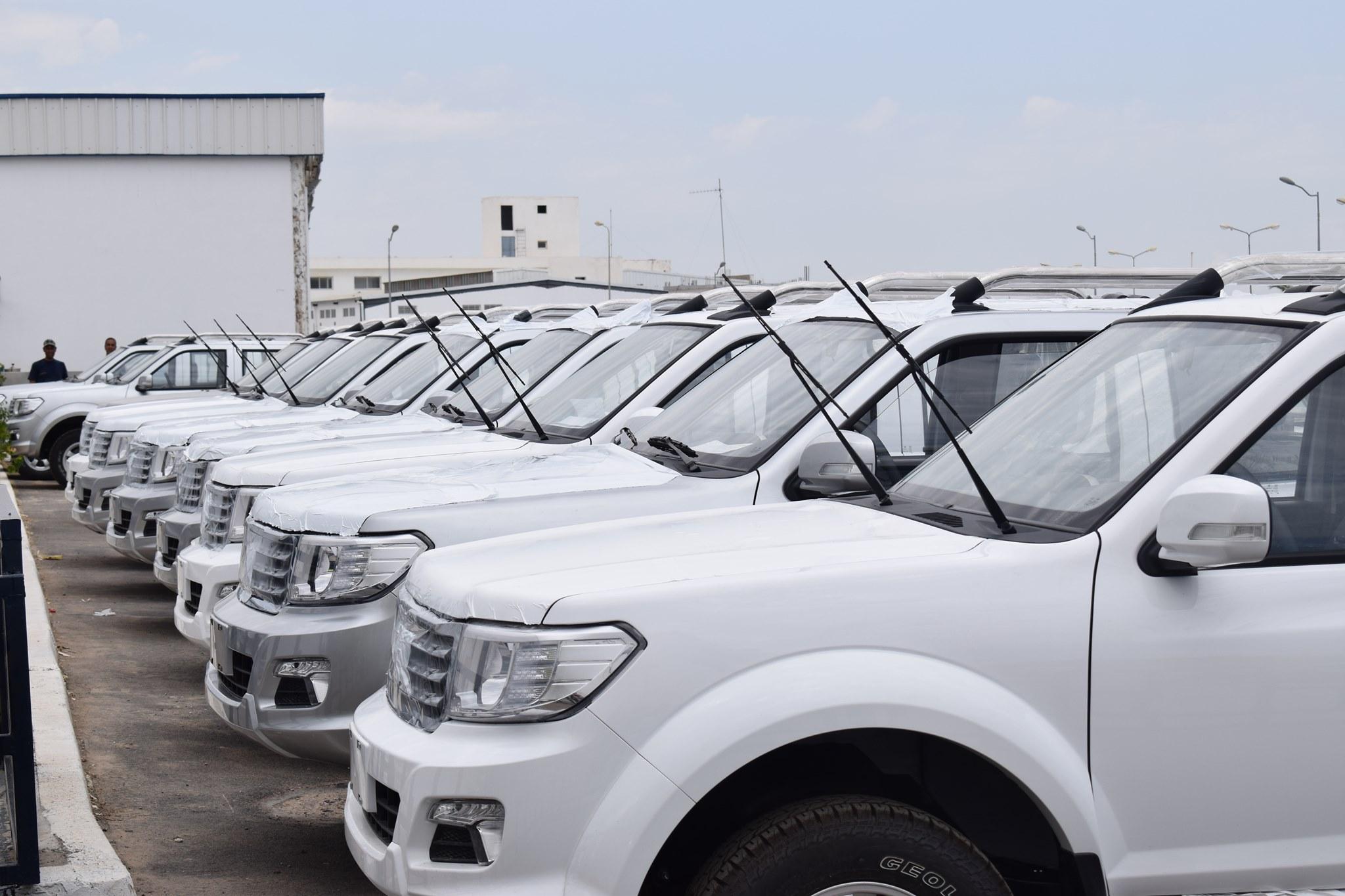بداية من اليوم: الشروع في تصدير 200 سيارة إلى الكوت ديفوار على دفعات