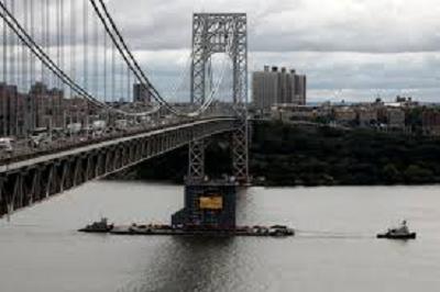 نيويورك: غلق جسر جورج واشنطن بسبب تهديد بوجود قنبلة