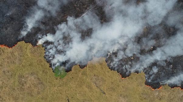 البرازيل  ترفض عرض مجموعة السبع لمكافحة حرائق الأمازون