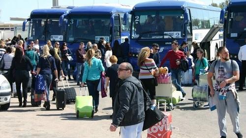 تطور عدد السياح الوافدين على تونس بنسبة 12،8%