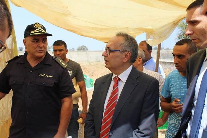 وزير العدل في زيارة إلى السجن المدني بالمهدية (صور)