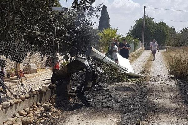 مقتل 7 أشخاص إثر اصطدام طائرة ومروحية في إسبانيا