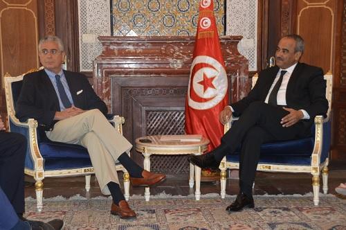 وزير المالية ينظر في آفاق تطوير التعاون بين تونس والبنك العالمي