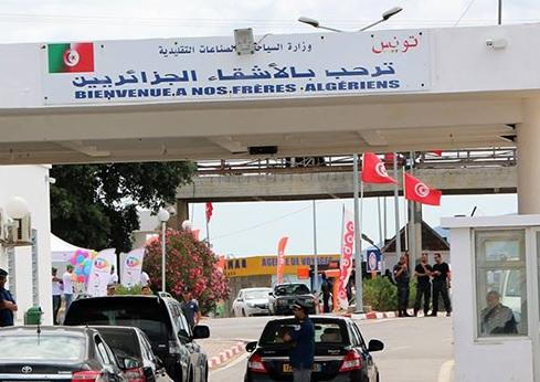 تدفّق كثيف للسيّاح الجزائريين عبر المعابر الحدودية نحو تونس