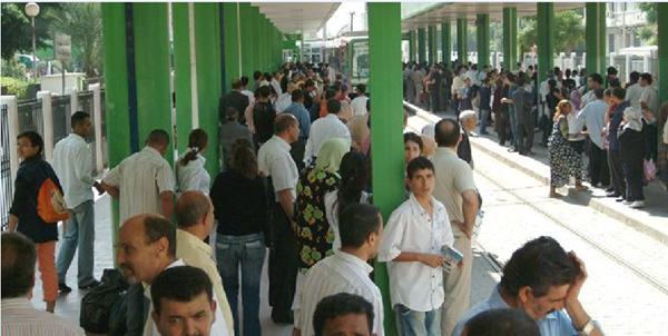 """""""الترسكية"""" تتسبب في خسارة 40 % من مداخيل شركة نقل تونس"""