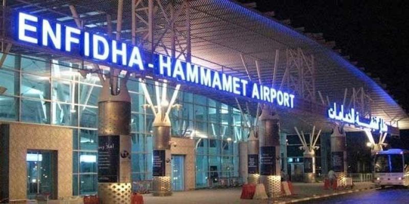 """سقوط جزء من سقف مطار النفيضة: """"تاف تونس"""" تنفي و توضح"""