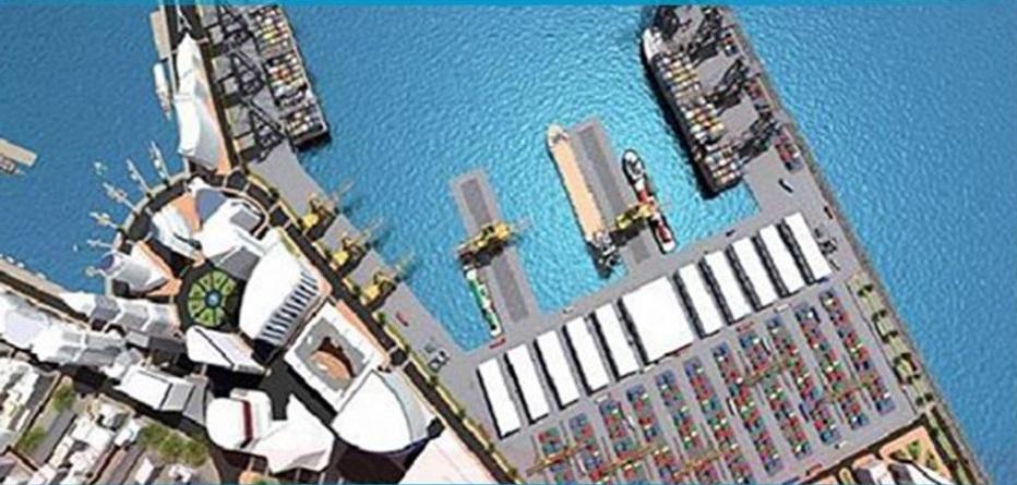 أشغال إنجاز ميناء المياه العميقة بالنفيضة تنطلق مطلع 2020