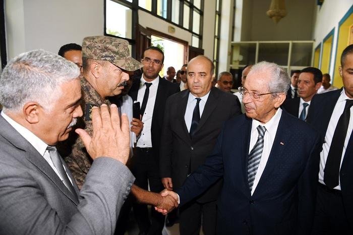 رئيس الجمهورية يُعاين الاوضاع في ولاية اريانة (صور)