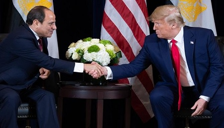 ترامب: الرئيس المصري زعيم حقيقي