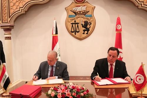 توقيع اتفاقيات بين تونس والعراق: التفاصيل