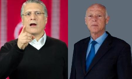 سيغما كونساي :قيس سعيد و نبيل القروي في صدارة التصويت للرئاسية