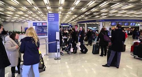 مطار النفيضة الحمامات الدولي: اقلاع طائرة على متنها 180 سائحا بريطانيا