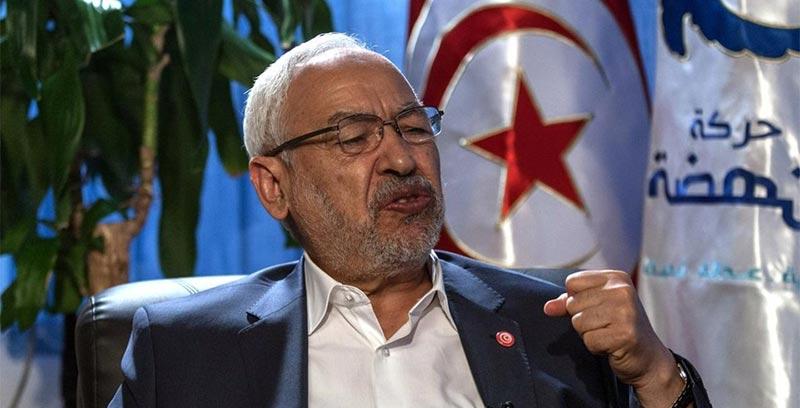 """الغنوشي: """"حزب قلب تونس المنافس الوحيد للنهضة"""""""