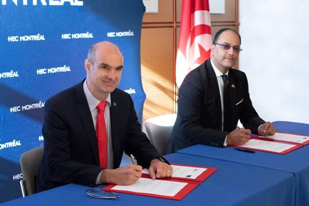 اتفاقيات بين وزارة التعليم العالي وأهم الجامعات الكندية