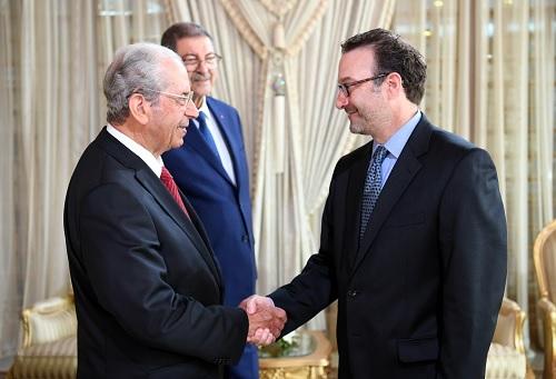 رئيس الجمهورية يستقبل نائب وزير الخارجية الأمريكي