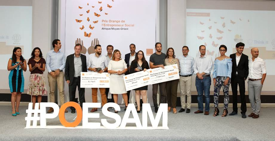 أورنج تونس تعلن عن الفائزين الثلاثة في المسابقة الوطنية للمشاريع الإجتماعية لسنة 2019
