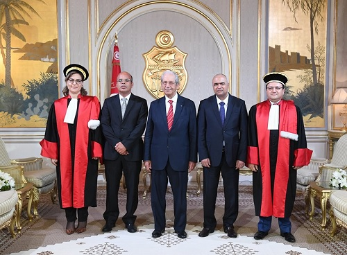 فحوى لقاء رئيس الجمهورية برئيس المجلس الأعلى للقضاء
