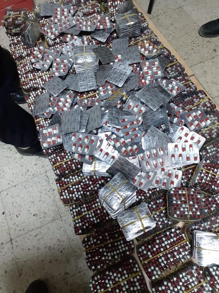 الديوانة تحجز أدوية مخدرة وبضائع مهربة بقيمة 500 ألف دينار