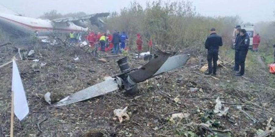 أوكرانيا: مقتل 4 أشخاص في هبوط اضطراري لطائرة شحن