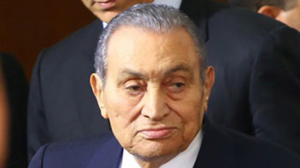 حسني مبارك يتحدث لأول مرة منذ تنحيه
