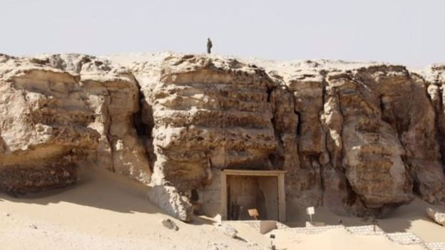 إكتشاف أثري جديد في مصر