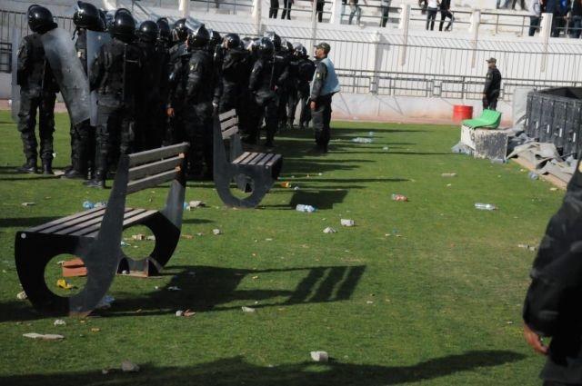 توضيحات وزارة الداخلية بخصوص أحداث ملعب الطيب المهيري