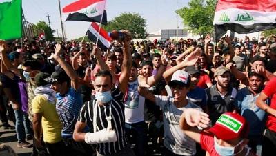 عدد قتلى احتجاجات العراق يصل الى الـ110