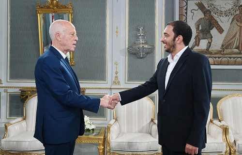 رئيس الجمهورية يلتقي ياسين العياري