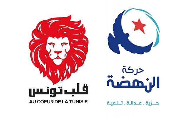 """""""النهضة""""الأولى و """"قلب تونس """" ثانيا .. والنداء أكبر المتضررين"""