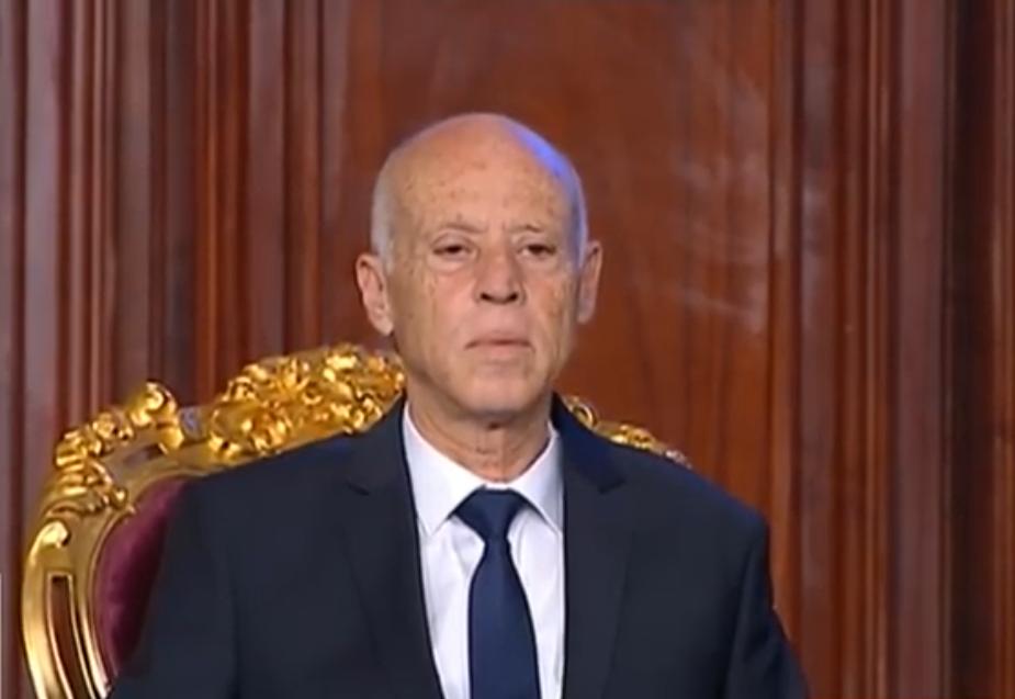 """قيس سعيد :""""استعصى على الكثيرين فهم ما حصل في تونس """""""