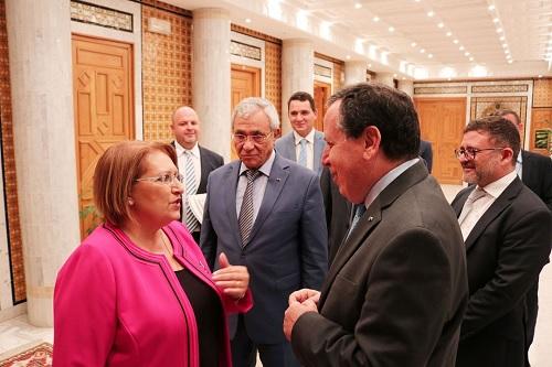 """رئيسة مالطا السابقة: """"نجاح الإنتخابات الرئاسية والتشريعية ساهم في دعم إشعاع تونس"""""""