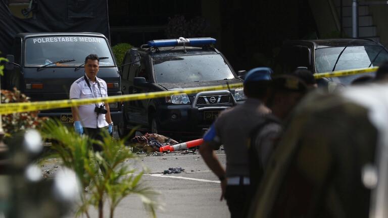 أندونيسيا: تفجير انتحاري يهز مقرا للشرطة في سومطرة
