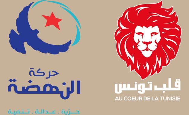 """حركة النهضة: هذا ما اشترطه """"قلب تونس"""" للتصويت للغنوشي"""