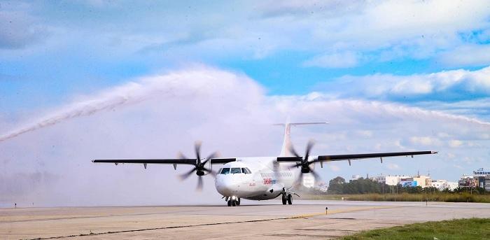 """تونس تتسلم طائرة جديدة ثنائية المحرك """"آ تي آر"""""""