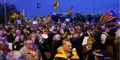 إسبانيا: احتجاجات ضد زيارة الملك لبرشلونة