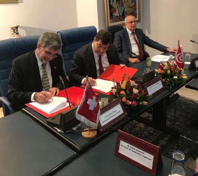 تونس وسويسرا توقعان اتفاقية لدعم السياحة المستدامة