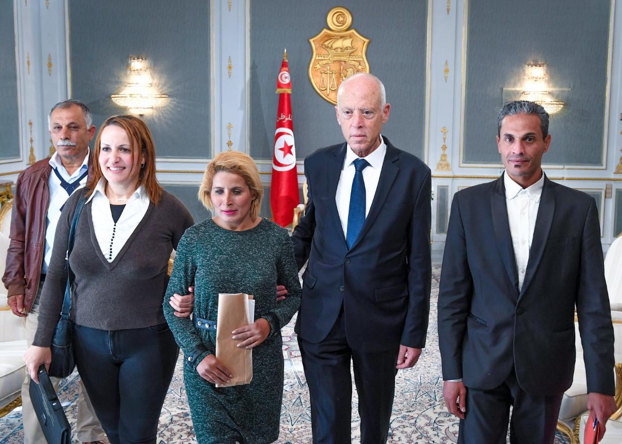 عودة إنتاج الفسفاط محور لقاء رئيس الجمهورية بوفد من المجتمع المدني