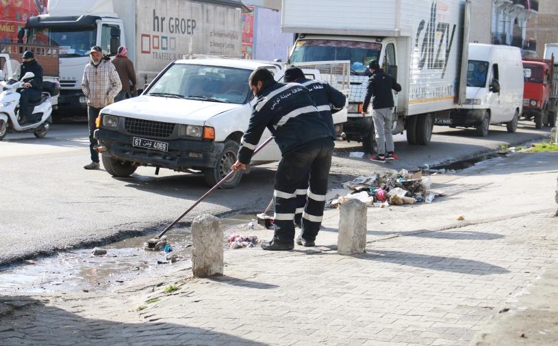 إضراب عام لعمال البلديات بكامل البلاد يومي 26 و27 فيفري القادم