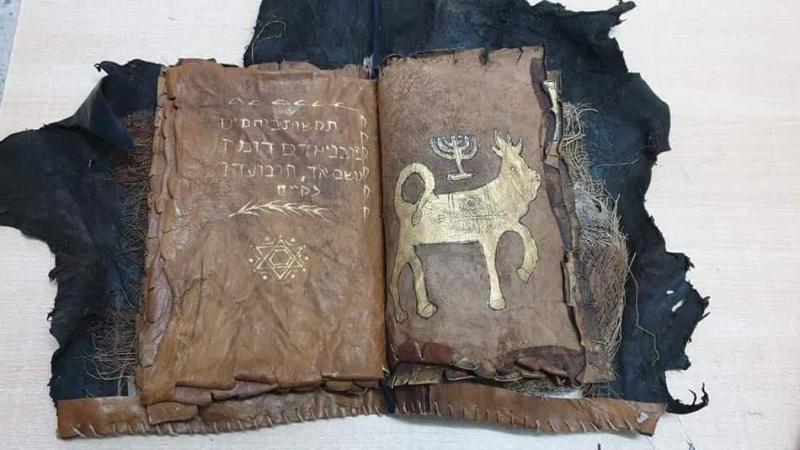 حجز مخطوطة أثرية بالذهيبة (صور)