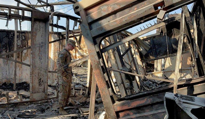 الجيش الأمريكي يعلن إصابة 11 جنديا في هجوم ايران الصاروخي